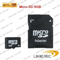 ture capacity TF card Microsd 8GB with SD Adapter  Free shipping LT55