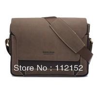 FREE SHIPPING Gersvel 2013 Brand Mens Bags Handbags Fashion Leather Canvas Casual Shoulder bag Messenger Bags Cross Body Bags