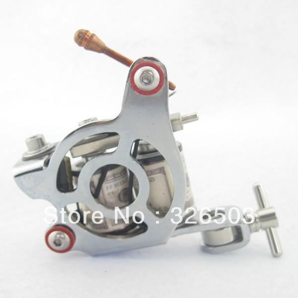 One 8 Wrap Coils General Beginner Tattoo Machine Gun For Kit Set Supply STG-Z16(China (Mainland))