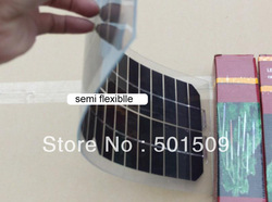 New 10W semi flexible solar cells of amorphous foldable very slim solar panel 12V for marine boat Diy household electrial(China (Mainland))