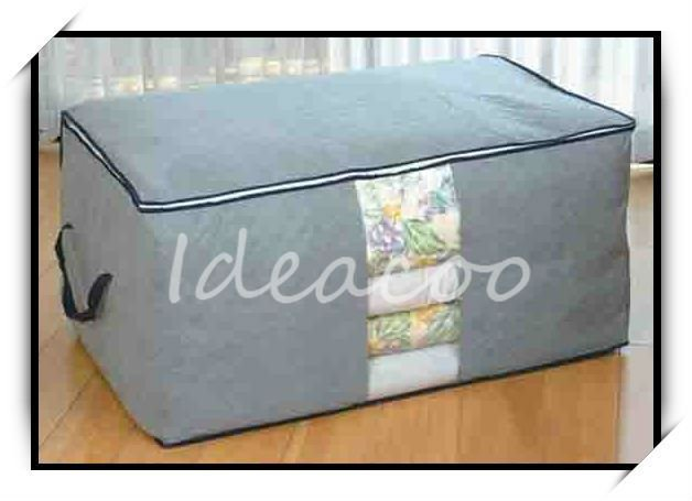 $5 off per $50 order/Free shipping/wholesale/Bamboo Charcoal Fiber Quilt box/overcoat storage bag storage box/gifts(DM-102)(China (Mainland))