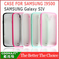 Free shipping 1PCS 100% Original PC Case For Samsung I9500 (Galaxy SIV)  New Arrivel mobile phone dirt-resistant case