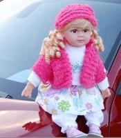 "24"" New Style Intelligent Speaking Talking Doll Sound Doll ,interactive Dolls ,fashion Dolls free Shipping"