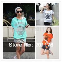 346# Free shipment 3 color MQO1 2013 Fashion women casual suit summer top+skirt Sport wear set