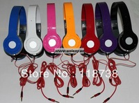 Freeshipping wholesales 7 colors mini so HD headphone with retail package black/white/yellow/red/purple/pink headphone