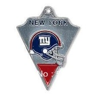 free shipping (Can be Mixed) sport enamel New York Giants football team logo charms 50pcs a lot
