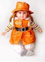 "24"" new style Intelligent speaking doll  Talking doll Sound doll  ,Interactive Dolls ,fashion dolls free shipping"