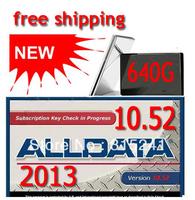 Hot Selling  alldata 10.52 all data + mitchell on demand 2013 +  ESI 2013 + ETKA + ATSG 640G hard disk with high quality