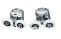 High quality Zinc Alloy double shower door rollers