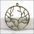 33 pcs Vintage Charms Tree Pendant Antique bronze Fit Bracelets Necklace DIY Metal Jewelry Making