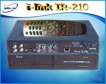 iLink210HD Digital Satellite TV Receiver with ethernet port for internet