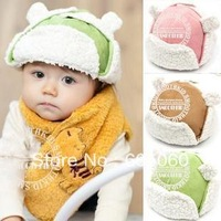 Free shipping Autumn and winter warm hat ear cap plus velvet leifengs male hat baby hat child hat