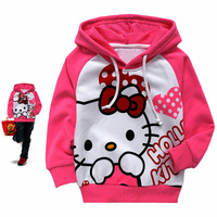 Free shipping ,2013 New arrive kids girl hoodiies(95-140) spring and autumn clothing wholesale 6pcs/lot