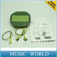 Free shipping NEW ARRIVAL! WEAT-RESISTANT Green color SIE2i Sport in-ear earphone with micrphone