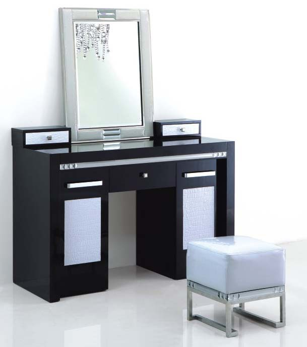 meuble coiffeuse maquillage. Black Bedroom Furniture Sets. Home Design Ideas