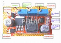 DC-DC Buck Converter 5-35V to 1.25-30V 3A 15W Step-Down CC/CV Adjustable voltage Power Supply Module LM2596