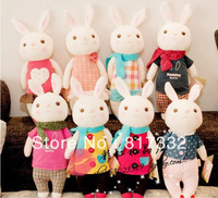 Wholesale latest fashion children's toys, tiramisu rabbit (34cm) Christmas gifts, birthday gifts. Free Shipping!