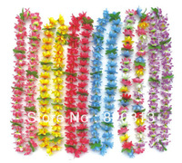 Party supplies hawaiian hawaiian necklace hawaiian flower lei
