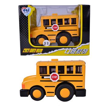 Engineering car bus model alloy car WARRIOR acoustooptical boy toy