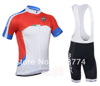 Fast  2013 San Hot Selling Bicycle Jersey(Maillot)+Bib Short(Lower)/MadeOf Polyester/Some SIzes/Italy Ink