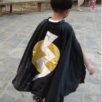 black halloween capes without lining,dress costume cape ,one piece in selling