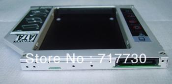 hot saling brand new 9.5mm slim serial ATA hard disk bracket SATA to SATA hdd rack for 2.5'' SSD HDD