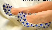 CRYSTAL DIAMOND HEELS PEEPTOE WEDDING BRIDAL SHOES