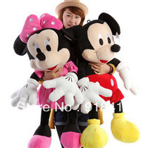 "Hot sale 39"" Mickey Mouse toys 100cm Christmas gift baby dolls for kids special toys free shipping(China (Mainland))"