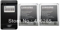 New 2x 2600mAh OEM B600BC Battery +USB AC Charger for Samsung Galaxy SIV S4 i9500 Verizon i545 CDMA AT&T I337 Free Shipping