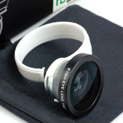 180 Degree Conversion Fisheye Lens for phone & pad(China (Mainland))