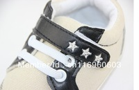 Free Shipping 2013 new  soft outsole baby shoes Fashion Embroidered stars and non-slip toddler shoes hot sale! MOQ 1pair