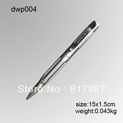 dwp004 Survival Pen FREE SHIPPING,tactical defense metal ballpoint pen/ball pen for self defense portable/survival multi tool(China (Mainland))