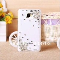 FOR SAMSUNG GALAXY S2 I9100 LUXURY BLING 3D CRYSTAL DIAMOND Flower HARD CASE COVER