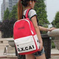 2014 New Fashion canvas women backpacks student school backpack girls travel bags free shipping