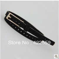 Min Order $15(mixed order)  Cutout thin belt pigskin mixed belt 105cm waist strap belt