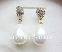 Free shipping $10 orders manufacturer supply  High quality fine fashion pearl earrings  E1156