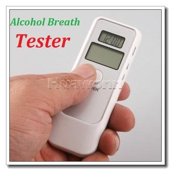 High quality LCD Digital Alcohol Breath Tester Analyzer Breathalyzer Dropshipping