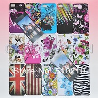 Colorful Printing Soft Gel TPU Flower Case for Blackberry Z10 BB Butterfly Zebra Leapard USA UK DHL Free Shipping 100PCS
