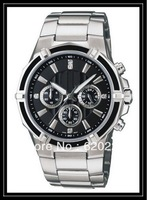 EF-551D-1A japan quartz.chronograph men brand sports popular wristwatches original box and certificate.Free Shipping