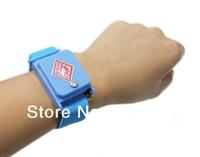 Wholesale cordless ESD antistatic finish wireless bracelet static-free wrist strap anti static bands Free Shipping