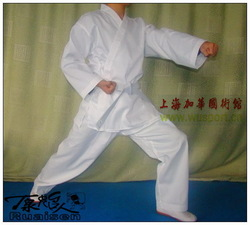 Child karate service child children&#39;s clothing karate suit belt uniform school uniform(China (Mainland))