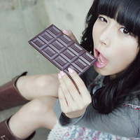 Min. order is $15 (mix order) 12 chocolate rectangular mirror portable makeup mirror seductive 2756