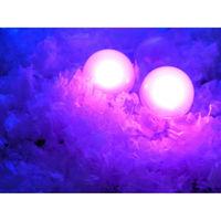 600pcs/lot Multi color Wedding Decoration vase lights Round LED Submersible Fairy lights