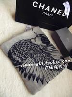 Hot Wraps 2013 high quality animal bird graphic patterns moben women's scarf silk scarf elegant formal  Free Shipping
