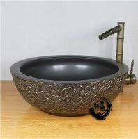 Jingdezhen ceramic art basin wash basin counter basin stone
