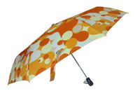 Umbrella umbrella folding automatic umbrella three fold umbrella anti-uv