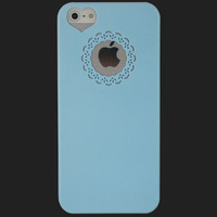 1PC Light Blue Ultra-thin Dirt Proof Hard Back Case Cover Skin House Protector For Apple IPhone 5 5G 5th, Free & Drop Shipping