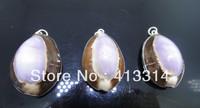 S-4 Fashion Shell  Gift  3Pcs/Lot Shell Pendant Necklace Pendant