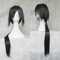 Cosplay anime naturo akatsuki black wigs  itachi uchiha mens wig cartoon jewelry