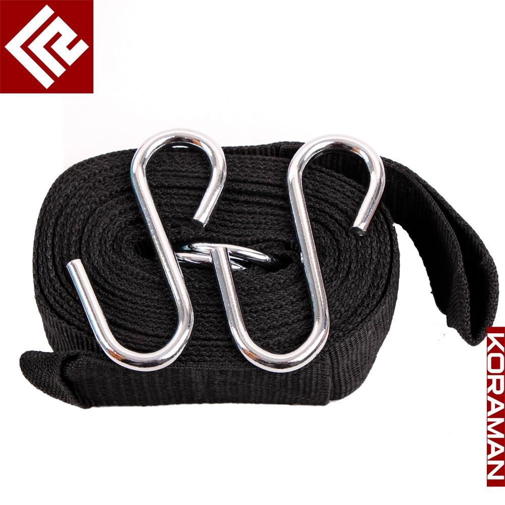 Outdoor hammock bandage hammock professional bands nylon lengthen bands hanging buckle(China (Mainland))